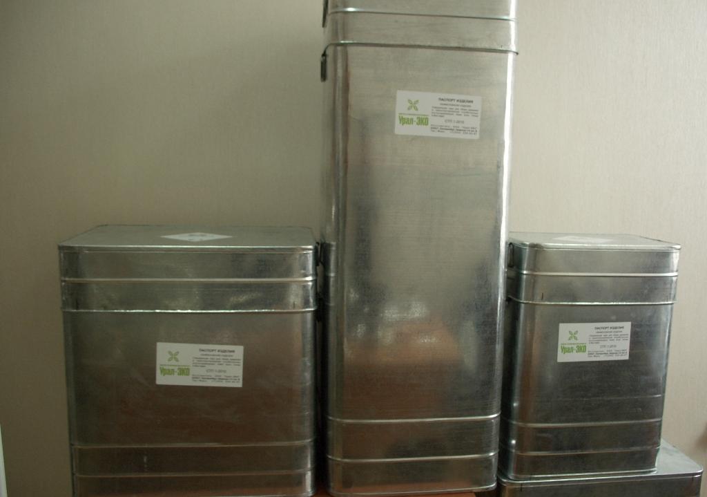 Специальная тара для хранения и транспортирования ртутных ламп